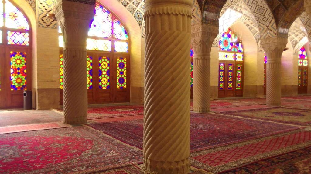 Mezquita en Shiraz